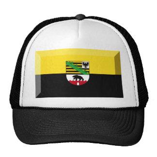 Sachsen-Anhalt Flag Gem Trucker Hat