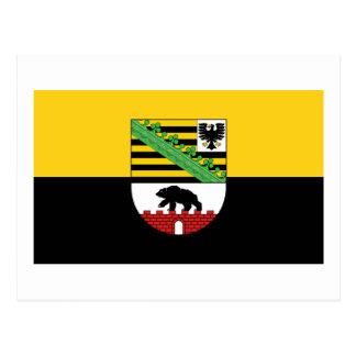 Sachsen-Anhalt Flag Postcard