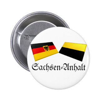 Sachsen-Anhalt, Germany Flag Tiles Button