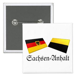 Sachsen-Anhalt, Germany Flag Tiles Pins