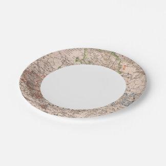 Sachsen, Anhalt Paper Plate