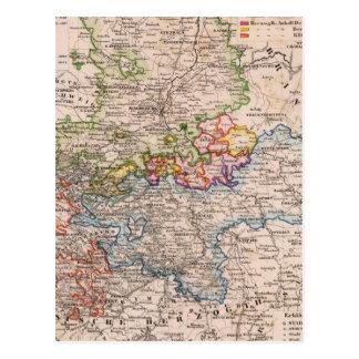 Sachsen, Anhalt Postcard