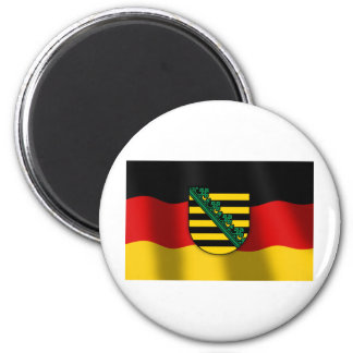 Sachsen coat of arms 2 inch round magnet