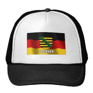Sachsen coat of arms trucker hat