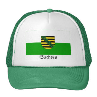 Sachsen Flag Trucker Hat