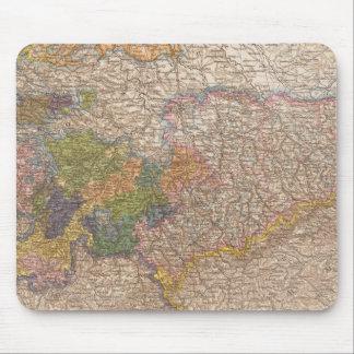 Sachsen, Thuringische Staaten Atlas Map Mouse Pad
