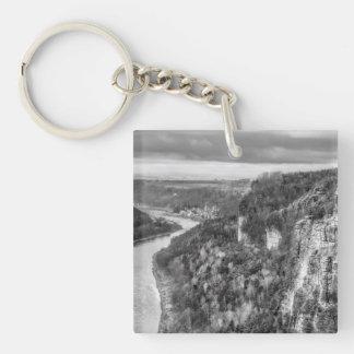 Sachsen view keychain