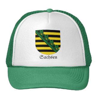 Sachsen Wappen Coat of Arms Trucker Hat