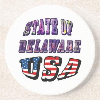 Sacie del texto de la imagen de Delaware y de la Posavaso Para Bebida