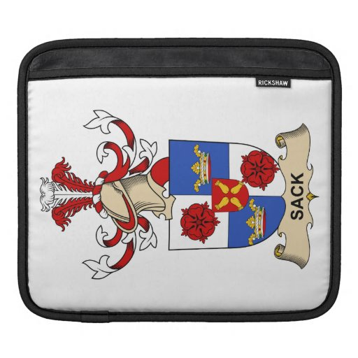 Sack Family Crest Sleeve For iPads
