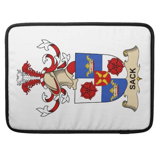 Sack Family Crest Sleeves For MacBook Pro