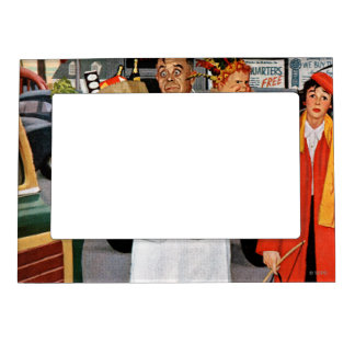 Sack Full of Trouble Magnetic Photo Frame