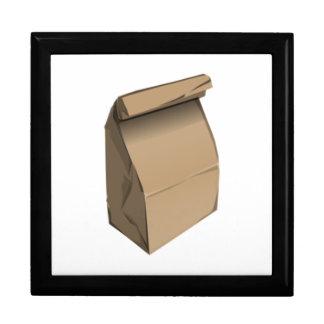 Sack Lunch Keepsake Box