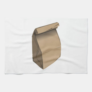 Sack Lunch Kitchen Towels