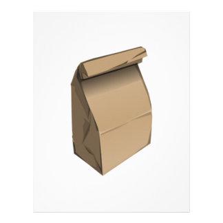 Sack Lunch Letterhead Template