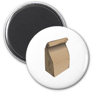 Sack Lunch Magnet