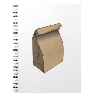 Sack Lunch Spiral Notebooks