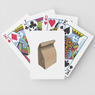 Sack Lunch Bicycle Card Deck