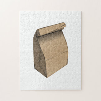 Sack Lunch Jigsaw Puzzle
