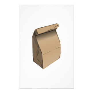 Sack Lunch Stationery Paper