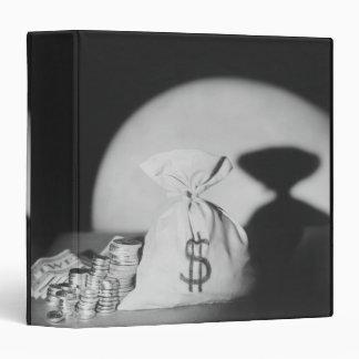 Sack of Money 3 Ring Binder