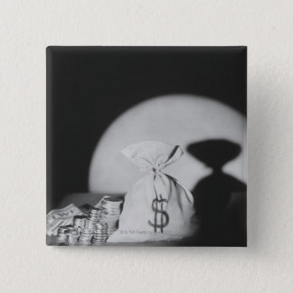 Sack of Money Pinback Button