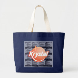 Sackful of Krystals Large Tote Bag