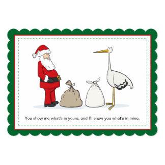 Sacks Pregnancy Christmas Announcement Sacks