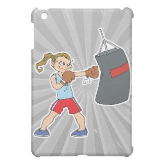 saco de arena del chica del boxeo