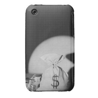 Saco de dinero iPhone 3 protectores
