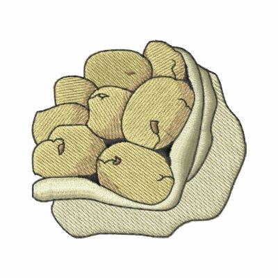 Saco de la patata chaquetas bordadas