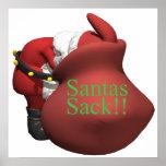 Saco de Santas Poster