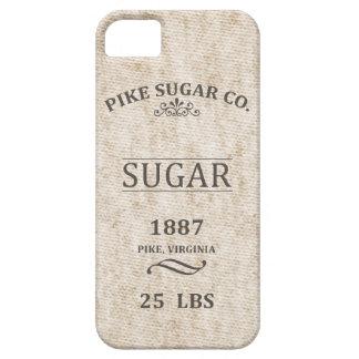 Saco del azúcar del vintage iPhone 5 carcasas