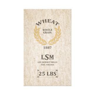 Saco del trigo del vintage