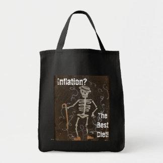 Saco del ultramarinos para la inflación importada bolsas