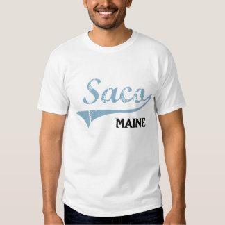 Saco Maine City Classic Tee Shirt