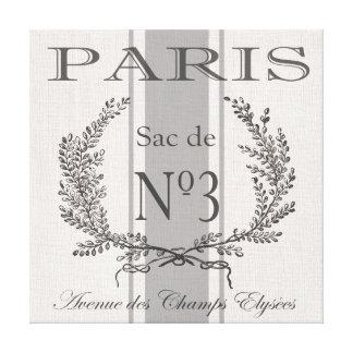 saco moderno del grano de París del francés del Impresión En Lienzo