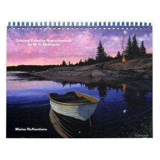 Saco River Graphics Calendar