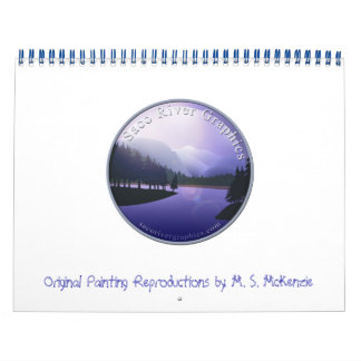Saco River Graphics Calendar