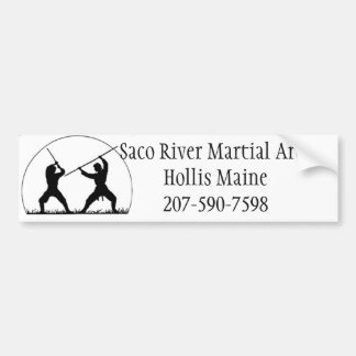 Saco River Martial Arts Bumper Sticker