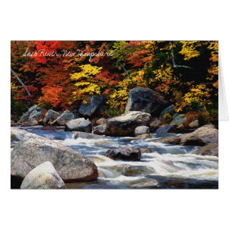 Saco River, New Hampshire Note or Greeting Card