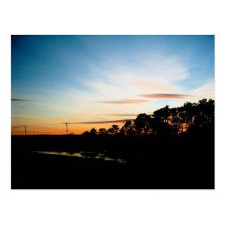 Saco Sunset Postcard