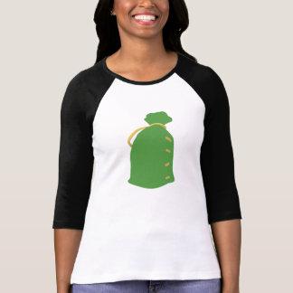 Saco verde camisetas