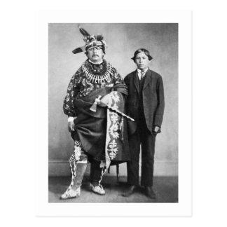 Saco y nación del Fox, 1868 Postales