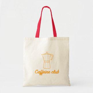 Sacolinha Caffeine Club of the Guide of the Coffee Tote Bag