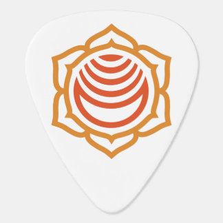 Sacral Chakra Energy Custom Guitar Pick