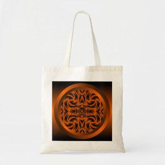 Sacral Chakra Mandala Tote Bag