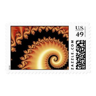Sacral Chakra Postage