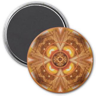 sacralchakramandala2 fridge magnets