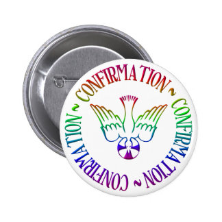 Sacrament of Confirmation - Descent of Holy Spirit 2 Inch Round Button